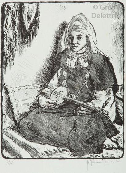 LAMARCHE Stéphane. 10 lithographies. Maroc.Lyon,...
