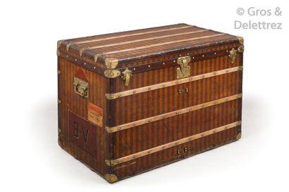 Louis VUITTON Rue Scribe n°20706, serrure n°04643 circa 1880