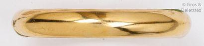 Bracelet «?Jonc?» ouvrant en or jaune. P...