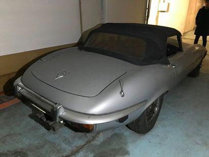 JAGUAR Type: E Cabriolet Série 3 N° de série: UDIS2144BBW (selon carte grise) UDS2144BBW...