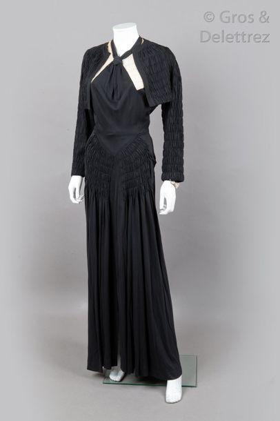 PAQUIN rue de la Paix Paris haute couture n°61631  circa 1935