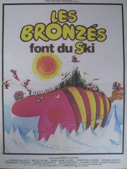 Les bronzés font du ski (1978)  De Patrice...