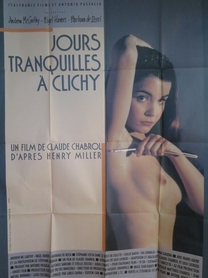 Jours tranquilles à Clichy (1989)  De Claude...