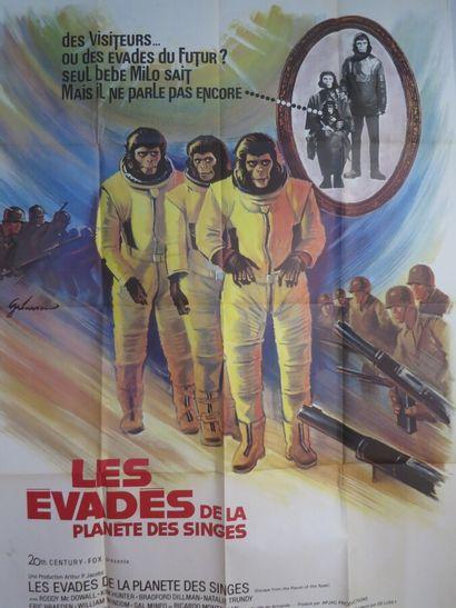 Les évadés de la planète des singes (1971)...