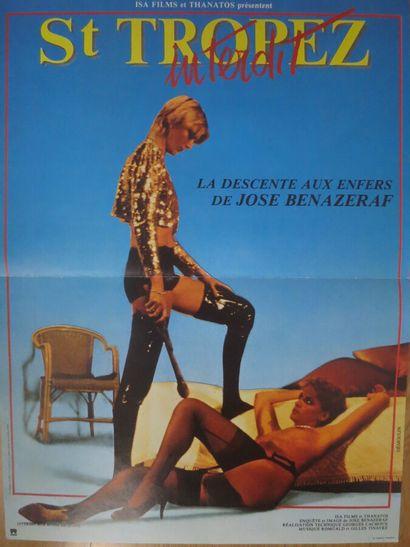 Saint-Tropez interdit (1985)  De José Bénazéraf...