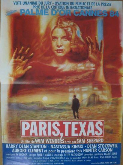 Wim Wenders:  8 affichettes divers films...