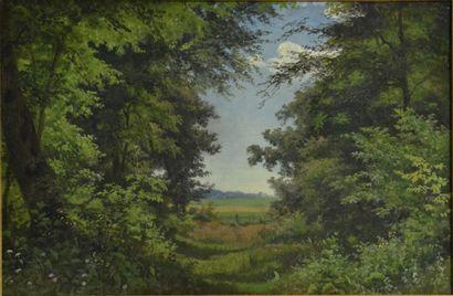 Frederik Kraft (1823 - 1854)  Ordrup Krat,...