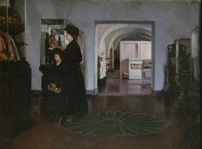 Sophus Vermehren (1866 - 1950)  Visite de...