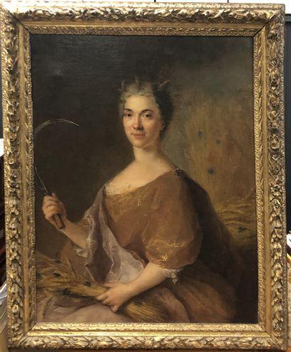 François de TROY (1645-1730)  Portrait de...