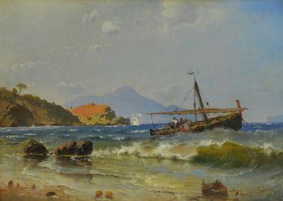 Carl Frederik Sørensen. (1818 - 1879)  La...