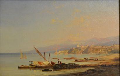 Antoine Guindrand. (1801 - 1843)  La côte...