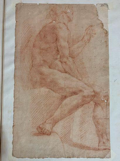 Ecole Romaine du XVIIème siècle  Académie...