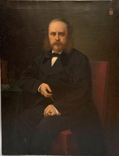 Ferdinand Birotheau (1819-1892)  Portrait...