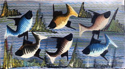 Kabinda Kunkulu Victor (1927)  Six poissons...