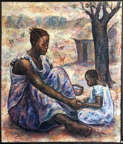 Joseph Banza Zinga ( RDC, 1943)  Mère et...