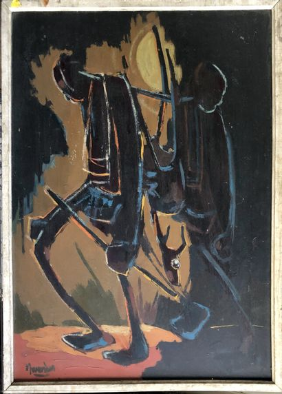 Floribert Mwembia (Ecole angolaise, XXème...