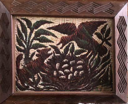 Mwenze Kibwanga (1925-1999)  Le vol des oeufs...