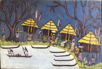Jacques Zigoma (1936-1987) (Ecole de Poto-Poto,...
