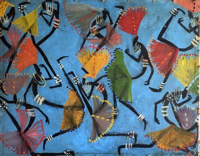 François Thango (1936-1981) (Ecole de Poto-Poto,...