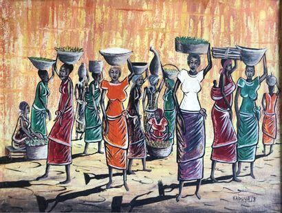 Kabuya (Ecole congolaise XXème siècle)  Retour...