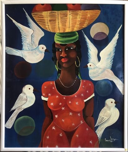 Grafor Lévèque (Ecole Haïtienne, XXème siècle)...