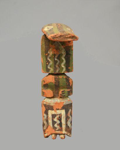 KACHINA PATUNG  Cottonwood, pigments  Hopi,...