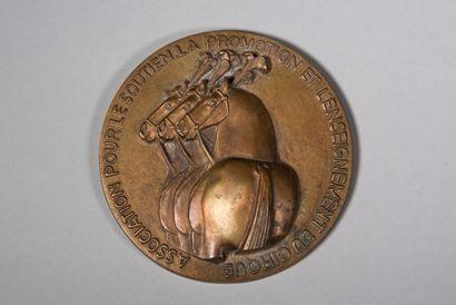 LHOSTE  Médaille : association pour le soutien,...