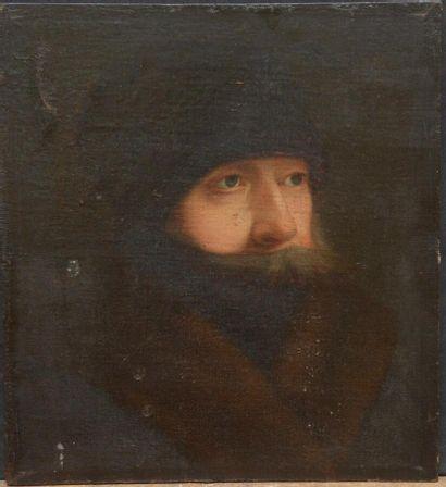 Ecole ALLEMANDE vers 1800  Portrait d'homme...