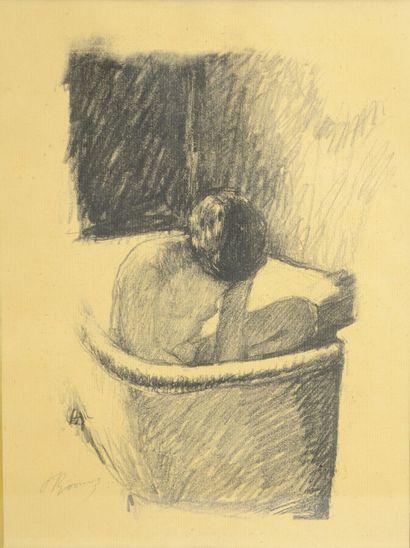 BONNARD Pierre (1867-1947)  Le Bain, circa...