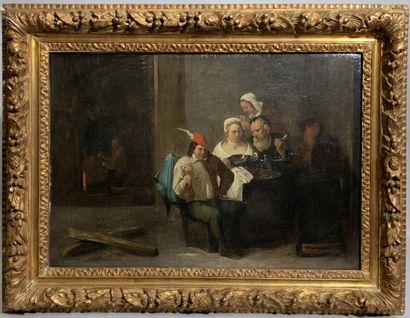 Matheus van HELMONT (Anvers 1623 - Bruxelles...