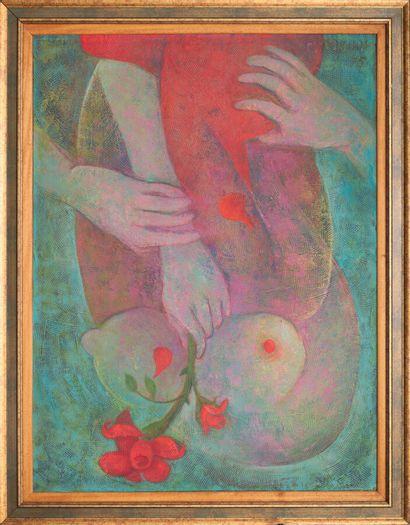 DESRUISSEAU Rose-Marie (1933 - 1988)  En...