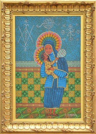 ISMAËL Saincilus (1940 - 2000)  Vierge à...