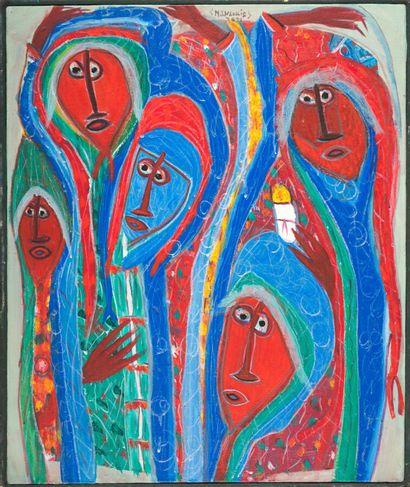 JEAN-LOUIS Maxan (1966)  Les Saintes Femmes...