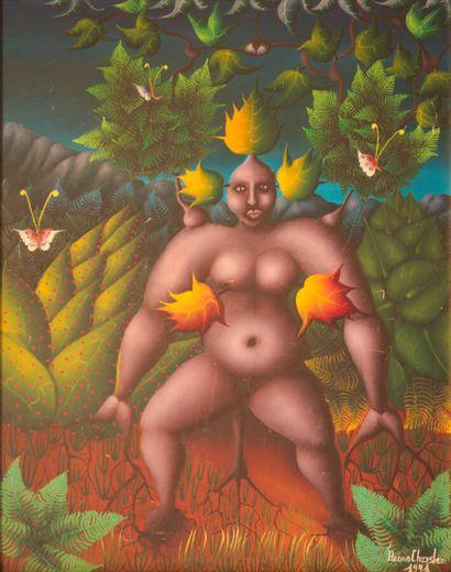 CHRYSLER Bruno (1944)  Ninette  Acrylique...