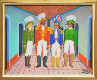 CHÉRY Jacques-Richard (1929)  Les quatre...