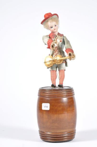 Boîte à musique: Petit violoniste sur son...