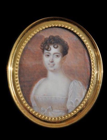 ÉCOLE FRANÇAISE - vers 1815