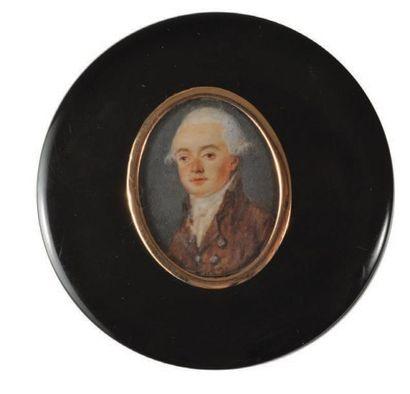 ÉCOLE FRANÇAISE - Fin du XVIII ème SIÈCLE