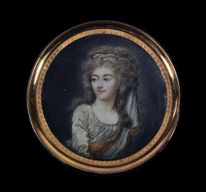 ÉCOLE de Jean Baptiste Jacques AUGUSTIN vers 1790