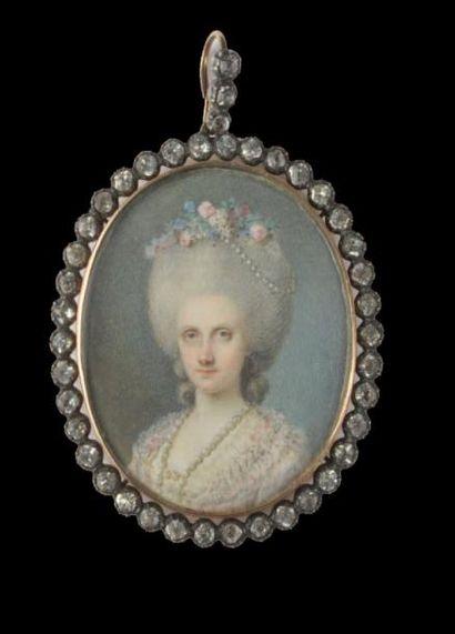 ÉCOLE FRANÇAISE vers 1765