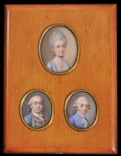 ÉCOLE FRANÇAISE vers 1770