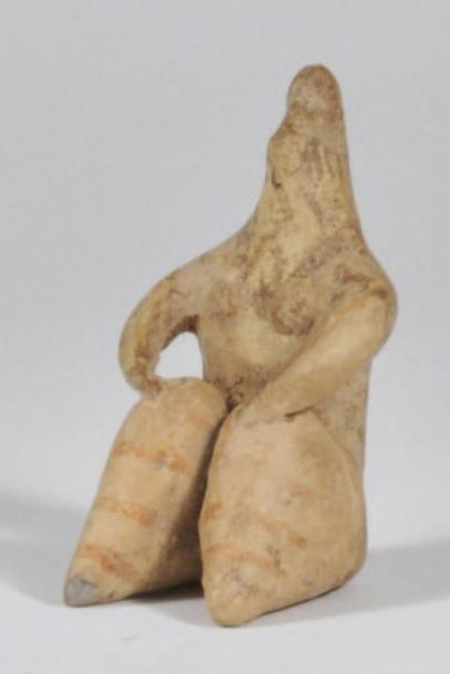 Statuette steatopyge representant une femme...