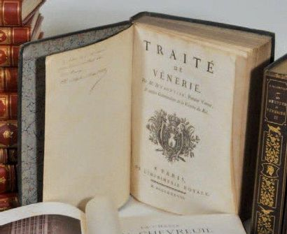 VENERIE d'YAUVILLE, Traité de Vénerie, Paris...