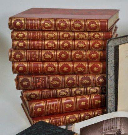 VENERIE: Ensemble de sept ouvrages reliés...