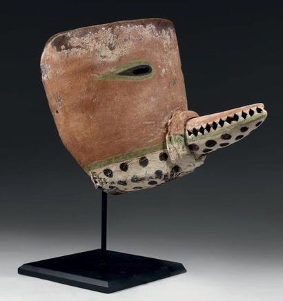 Masque de Kachina, PUCH TIHU, Lion des montagne?,...