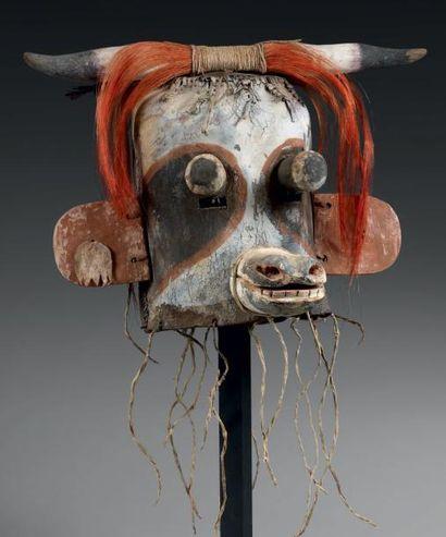 Masque de Kachina WAKAS, Hopi, Arizona, USA...