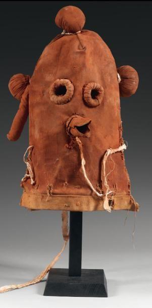 Masque de Kachina CHOQAPOLO, Kachina boue,...