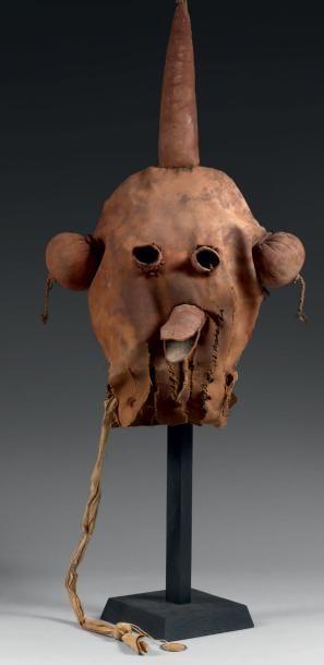 Masque de Kachina, CHOQAPOLO, Kachina boue,...