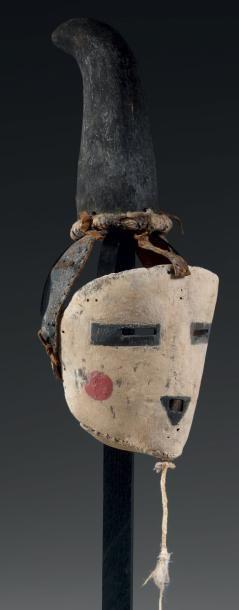Masque de Kachina, ONE HORNED MAIDEN Kachina,...