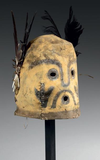 Masque de Kachina QOQLO ou KOKLO Kachina...